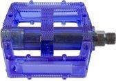 M-wave Platformpedaal Set Bmx 9/16 Inch Blauw
