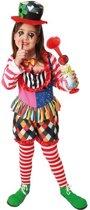 Clown pak voor meisjes - Kinderkostuums - 122/134