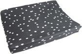 Briljant Baby Waskussenhoes interlock - spots - iron 50 x 70 cm