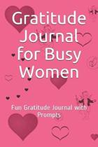 Gratitude Journal for Busy Women