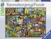 Ravensburger puzzel Colin Thompson Cling, Clang, Clatter! - legpuzzel - 1500 stukjes