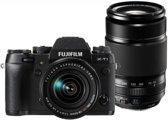 Fujifilm X-T1/18-55/XF55-200 Zwart