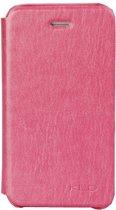 KLD Flip cover Book style Case iPhone 5 5S en SE Roze