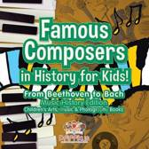 Famous Composers in History for Kids! from Beethoven to Bach