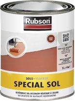 Rubson Spécial  Rood Vloer coating binnen en buiten - 0.75 Liter - Rood