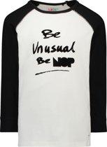 NOP  Unisex T-shirt York - Black - Maat 152