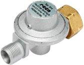 Gasdrukregelaar 2,5 bar 3/8e wartel aansluiting - 6/8 kg reduceerventiel