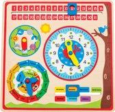 New Classic Toys - Educatieve Kalenderklok