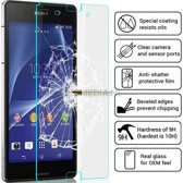 2 pack - Sony Xperia Z3 glazen Screen protector Tempered Glass 2.5D 9H (0.3mm)