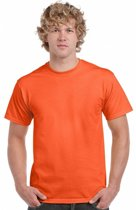 Oranje t-shirt heren XL