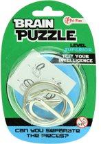 Toi-toys Hersenkraker Brain Puzzle Superior Zilver