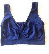 Comfort bh donker blauw / Navy xxxl/xxxxl