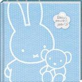 InterStat Dagboek Nijntje Baby's Eerste Jaar 21,5x21,5 cm - Blauw