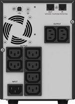 PowerWalker VI 1000T/HID Line-Interactive 1000VA 8AC-uitgang(en) Toren Zwart UPS