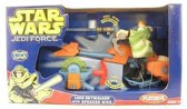Playskool Star Wars Luke Skywalker with Speeder Bike