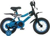 Troy Motorcross - Fiets - Jongens - Blauw - 16 Inch
