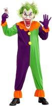 Joker Kostuum   Evil Joker Jose   Jongen   Maat 140   Carnaval kostuum   Verkleedkleding