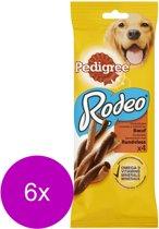 Pedigree Rodeo Kauwsticks - Rund - Hondensnacks - 6 x 4 stuks