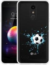 LG K30 Hoesje Soccer Ball