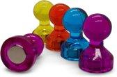 Magnetische gekleurde pionnen - 60 stuks