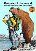 Kampvuur in berenland
