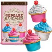 Cupcake pleisters 12 stuks