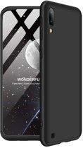 Teleplus Samsung Galaxy M10 360 Ays Hard Rubber Cover Case Black hoesje