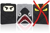 Vilten Laptop Sleeve / voor Macbook 11.1/ 13.3 inch (Ninja)
