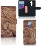 Xiaomi Note 8 Pro Book Style Case Tree Trunk