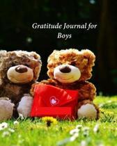 Gratitude Journal for Boys: My Journal of Gratitude