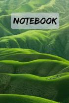 Notebook Beautiful Landscape Notepad / Journal / Diary: 6x9'' 120 Page Blank lined Note book.