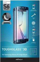 AVANCA Gebogen Beschermglas Samsung Galaxy S6 Edge Zwart - Screen Protector - Tempered Glass - Gehard Glas - Curved Glass - Protectie glas