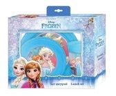 Disney Eetset Frozen Blauw 3-delig
