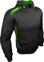 VX3 Team Tech hoodie Black/Emerald XS