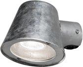 Konstsmide 7523 - Wandlamp - Trieste 230V neerwaartse spot 11.5cm - GU10 - max 35W - zink