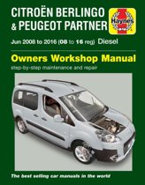 Citroen Berlingo & Peugeot Partner Diesel (June '08-'16) 08 To 16