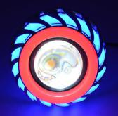 Angel eye LED scooter / brommer universeel blauw/rood