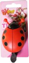 Pex Kids - Fietsbel - Lieveheersbeestje - Rood