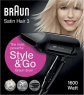 Braun Satin Hair 3 HD 350 Style&Go - Föhn