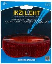 Achterlicht led ikzi light 3-led reflector 5cm