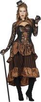Steampunk jurk Victoria voor dame maat 48