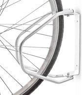 relaxdays fietsrek metaal beweegbaar muurbevestiging rek voor 1 fiets