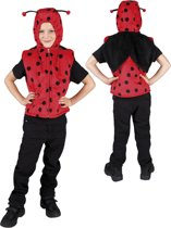 Pluche Lieveheersbeestje - Kostuum - 5-7 jaar