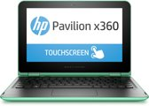HP Pavilion x360 11-k101nd - Hybride Laptop Tablet - Groen