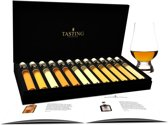 Tasting Collection World & Scotch Whisky Proeverij - 12.2 - 12 Tubes in Luxe Doos