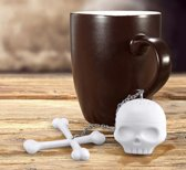 Theefilter Doodshoofd - Thee ei voor losse thee