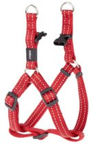 Rogz For Dogs Snake Step-In Hondentuig - 16 mm x 42-61 cm - Rood