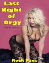 Lesbian Erotica: Last Night of Orgy