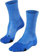 FALKE TK2 Wool Dames Wandel Sok 16395 - 39-40 - Blauw