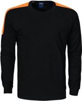 Projob 2020 T-shirt Zwart/Oranje maat XS